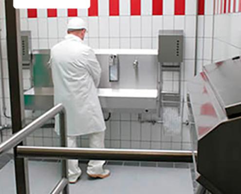 Оборудование для гигиены персонала Kohlhoff Hygienetechnik
